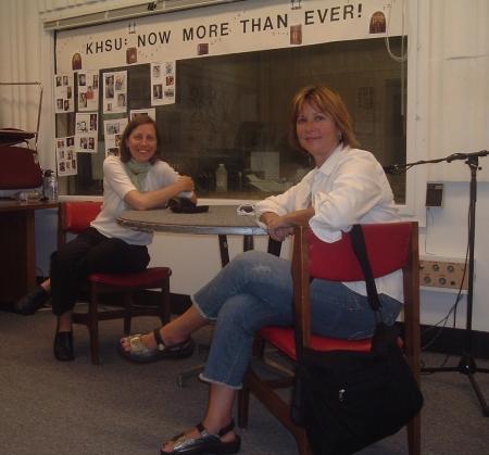 Stephanie Silvia and Rachel Wheeler